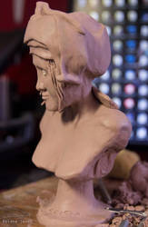 simple f bust (3/4 view) by Prista-Darkjavel