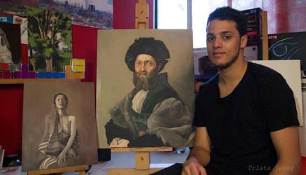 Oil paint study by Prista-Darkjavel