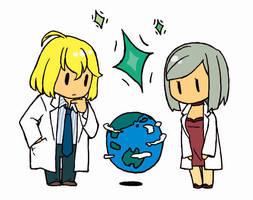 Future of the Earth. by he-taro