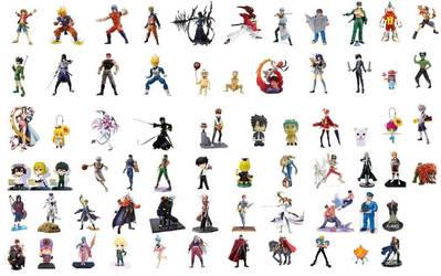 J-Stars Victory Vs Characters so Far as Toys by Salvy35z