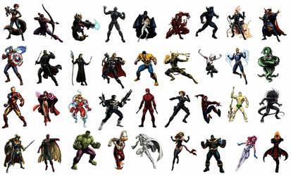 Marvel Vs Capcom Infinite Wishlist  by Salvy35z