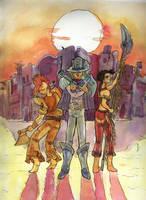 trio Serena by Ryoishen