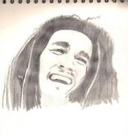 Bob Marley portrait by Ryoishen