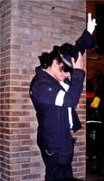 Yo haciendo de Michael xd by Ryoishen