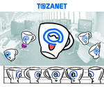 Tazanet, mascot corporate by Ryoishen