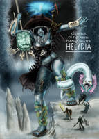 Helydia, colossus of the Abyss by Ryoishen