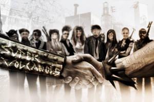 Post-apocalyptic Gangs by Ryoishen