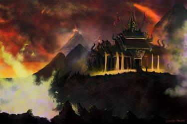 Djinn Palace by Ryoishen