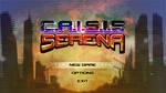 C.R.I.S.I.S SERENA Videogame Main menu by Ryoishen