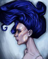 Sketchbook - blue by CaraKhan