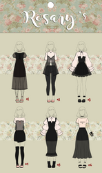 (CLOSED) Other Casual Outfit Adoptable 02 by Rosariy