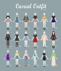 (OPEN 5/18) CASUAL Outfit Adopts 38 by Rosariy