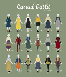 (OPEN 12/18) CASUAL Outfit Adopts 41 by Rosariy