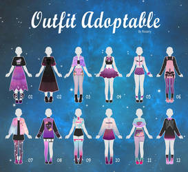 (OPEN 2/12) CASUAL Outfit Adopts 44 by Rosariy