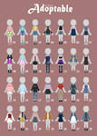 (OPEN 7/28) CASUAL Outfit Adopts 45 by Rosariy