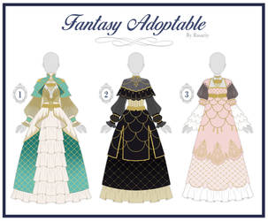 (OPEN 3/3)  ADOPTABLE AUCTION// Fantasy Outfit #26 by Rosariy