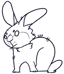 rabbit free base by statictelevisionpunk