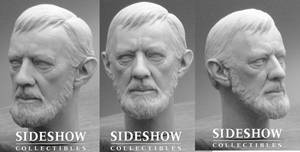 Alec Guinness Head Sculpt by TrevorGrove