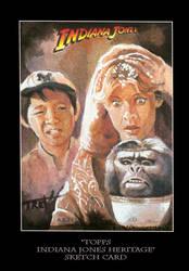 Sketch Card-Indiana Jones 6 by TrevorGrove