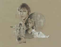 Star Wars--Death Star Escape by TrevorGrove