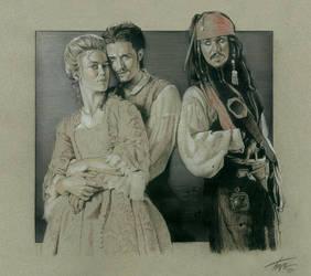 Pirates of the Caribbean--Trio by TrevorGrove
