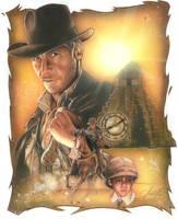 Indiana Jones:the legend by TrevorGrove