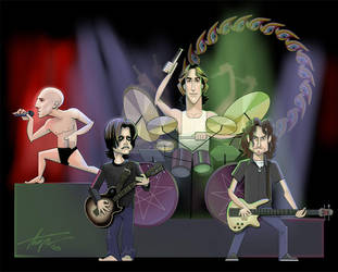 TOOL caricature by TrevorGrove