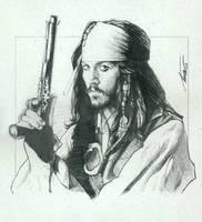 Pirates_Jack sketch by TrevorGrove