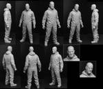 Breaking Bad Walter 6 Inch Figure by TrevorGrove
