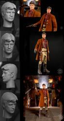 Quantum Mechanix Malcolm Reynolds Headsculpt by TrevorGrove