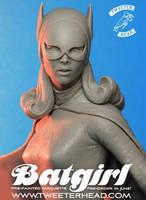 Tweeterhead Batgirl Maquette closeup by TrevorGrove