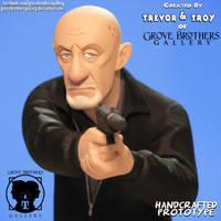 'Breaking Bad' GroveBro Toons Mike Ehrmantraut5 by TrevorGrove