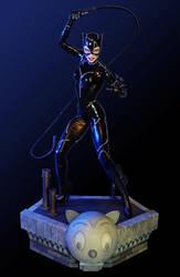 TWEETERHEAD Michelle Pfeiffer Catwoman by TrevorGrove