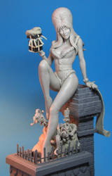 Elvira Scary Christmas by TrevorGrove