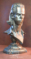 Nick Cave faux bronze by TrevorGrove