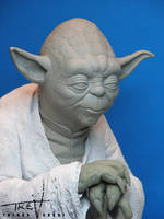 Yoda Statue (sculpt) by TrevorGrove