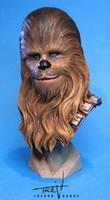 Chewbacca Bust by TrevorGrove