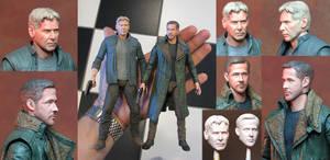 Blade Runner Action Figure Repaints by TrevorGrove