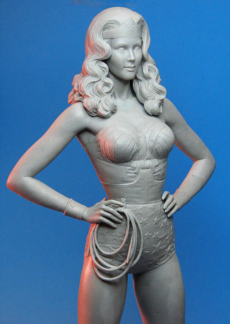 Tweeterhead Wonder Woman Closeup by TrevorGrove