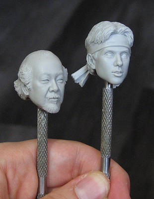 NECA Karate Kid Miyagi and Daniel by TrevorGrove