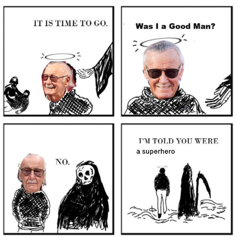 RIP Stan Lee... 1922-2018 by Awsometiger50
