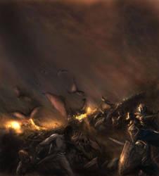 The Grand Battle by TobiasRyenAmundsen