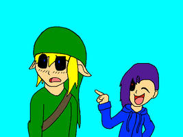Aurora and Ben Drowned (Human Form) #2 by FierceAustinDeadbolt