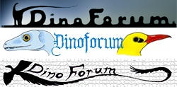 Dinoforum logo designs by Sinande
