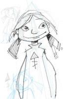 Zaza rough sketch by popChar