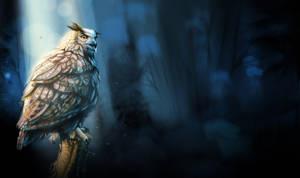 Bubo Bubo (Eagl Owl) Update4 WIP by popChar