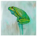 Tree Frog by popChar