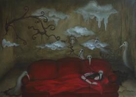 Red Sofa by VivalaVida