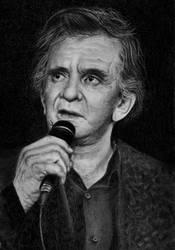 Johnny Cash by VivalaVida