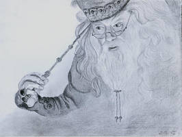 Albus Dumbledore by VivalaVida